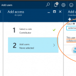 Delegate Azure subscription access to an external user